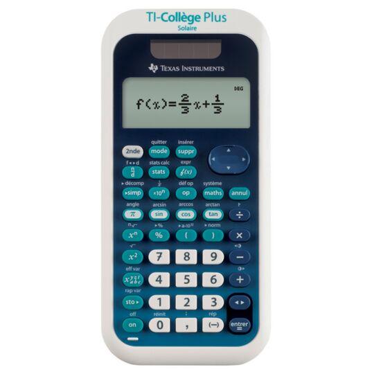 Calculatrice scientifique TI-Collège Plus
