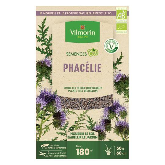Graines De Phacélie Bio , Boite De 375 Grs VILMORIN