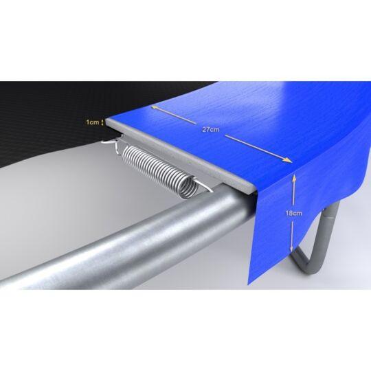 Trampoline Classique Bleu / Noir Ø 14ft / 427cm PLAY4FUN