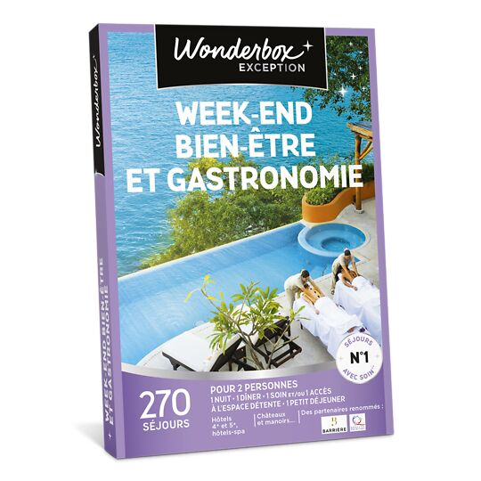 Week-end Bien-être Et Gastronomie WONDERBOX