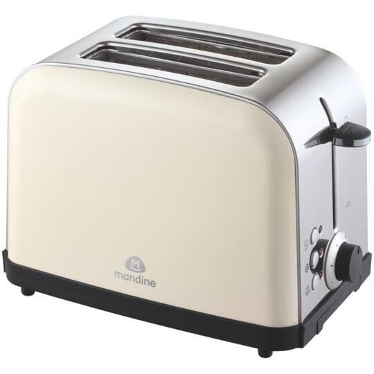Grille-pain - MTS1000C-20 - Blanc cassé