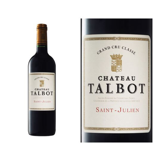 Château Talbot 2017 - Vin  Rouge