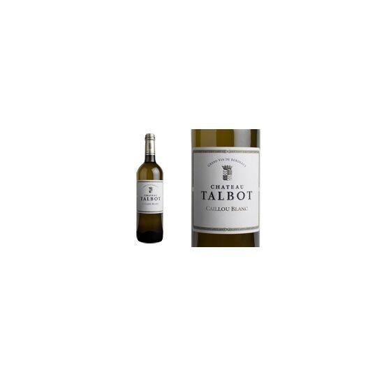 Caillou Blanc De Chateau Talbot 2017 - Vin  Blanc