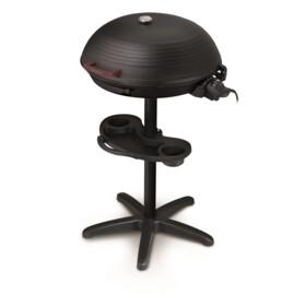 MANDINE Barbecue électrique sur pied - MBP20R-17 - Noir