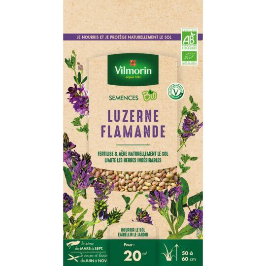 Graines De Luzerne Flamande Bio , Sachet De 60 Grs VILMORIN