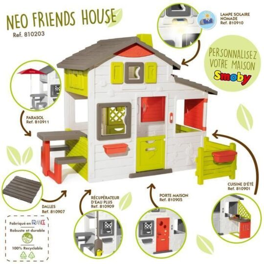 Maison Neo Friends House - Smoby SMOBY