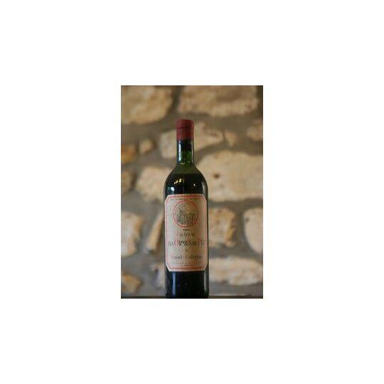 Vin Rouge, Château Les Ormes De Pez 1964 1964