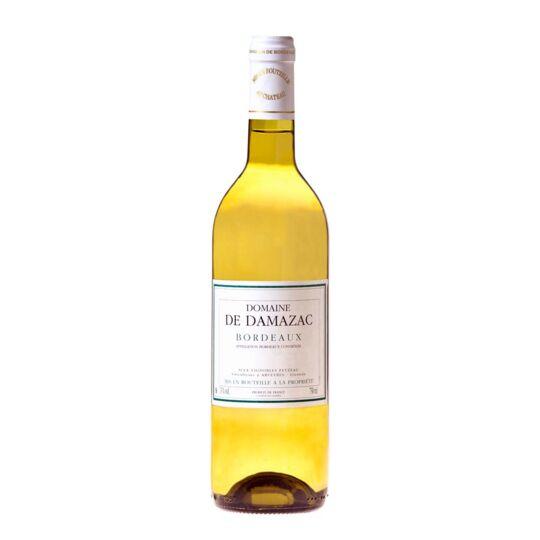 Domaine De Damazac 2020 - 6 Bouteilles-blanc Bordeaux-haute Valeur Environnementale