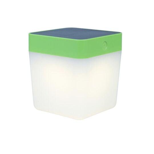 Lampe À Poser Verte Table Cube, Led Intégrée, 1w, 100 Lumens, 3000k, I