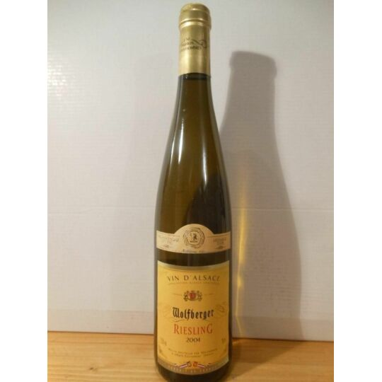Riesling Wolfberger Blanc 2004 - Alsace.
