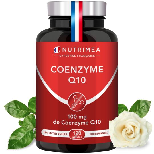 Complément Alimentaire Coenzyme Q10 Naturelle (CoQ10) NUTRIMEA