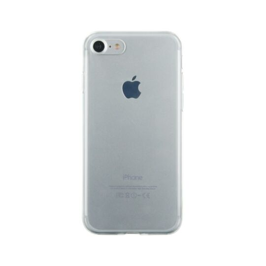Coque semi-rigide pour iPhone 7 - Transparente à Prix Carrefour