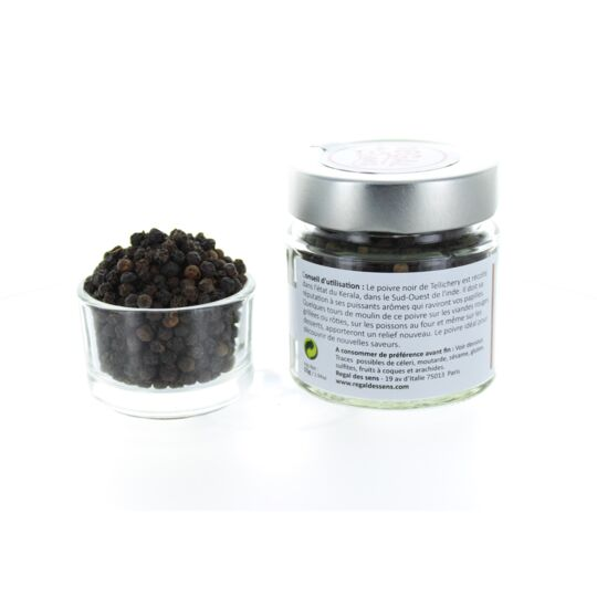 Poivre Noir De Tellichery - Inde