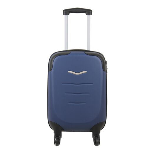 Valise ABS navy 4 roues 53cm
