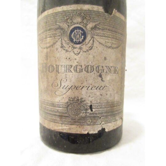 Bourgogne Supérieur Amg Rouge Années 1910 / 1920 - Bourgogne AMG