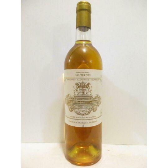 Sauternes Château Filhot Grand Cru Classé Liquoreux 1985 - Bordeaux