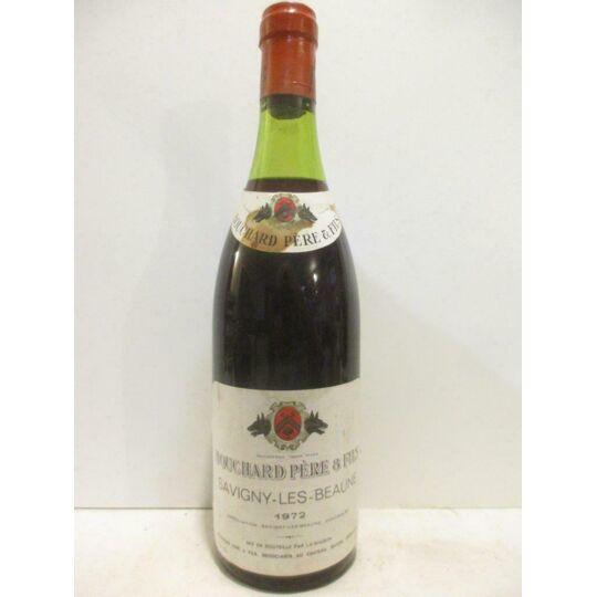 Savigny Bouchard Père Et Fils (collerette Tâchée) Rouge 1972 - Bourgogne BOUCHARD PÈRE ET FILS