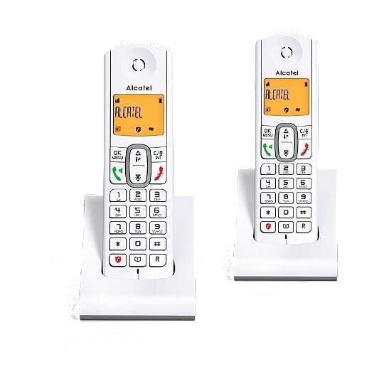 Téléphone Fixe Alcatel-F630-DUO-GRIS