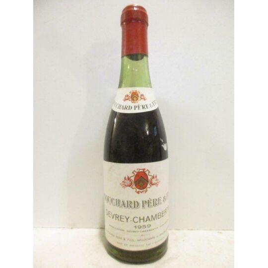 37,5 Cl Gevrey-chambertin Bouchard Père Et Fils (b5) Rouge 1959 - Bourgogne BOUCHARD PÈRE ET FILS
