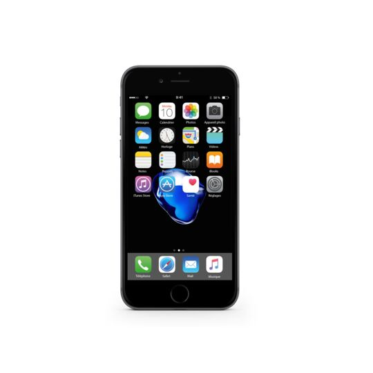 iPhone 7 Reconditionné - 32 Go - IP732GS - Noir