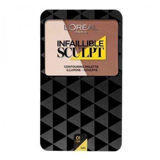 Palette Contouring Infaillible Sculpt - 01 - Claire L'ORÉAL PARIS