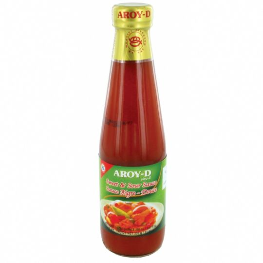Sauce Aigre-douce Thaïlandaise 280ml - 24 Bouteilles AROY-D