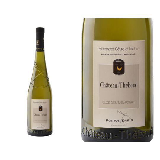 Château Thébaud Clos Des Tabardières 2012 - Vin  Blanc