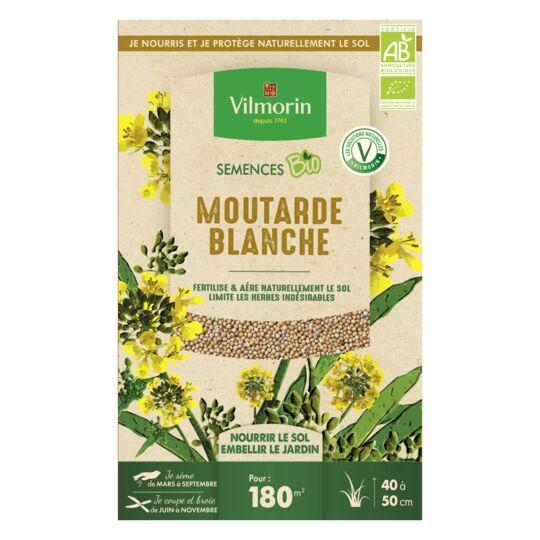 Graines De Moutarde Blanche Bio , Boite De 375 Grs VILMORIN
