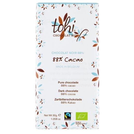 Chocolat Bio Noir 88% Cacao CHOCOLAT TOHI