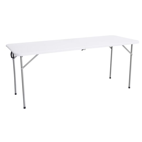 1ER PRIX Table pliante multiusage - L 1,80 m - Blanc - 447923