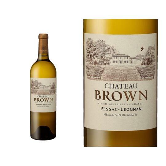Château Brown Blanc 2018 - Vin  Blanc