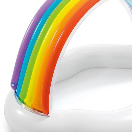Piscinette Gonflable Rainbow INTEX