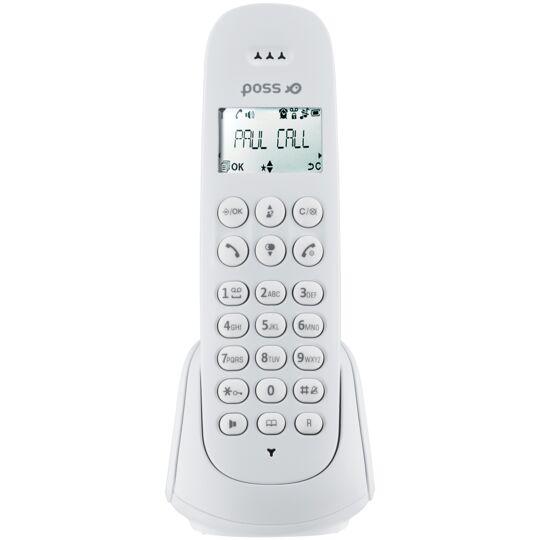 Téléphone sans fil Solo - PSDP130SW - Blanc