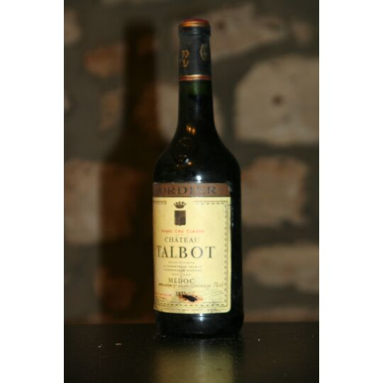Vin Rouge, Chateau Talbot 1973