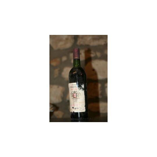 Vin Rouge, Chateau Du Marquis De Mons 1978