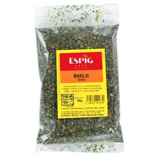 Basilic entier herbe aromatique 50g ESPIG