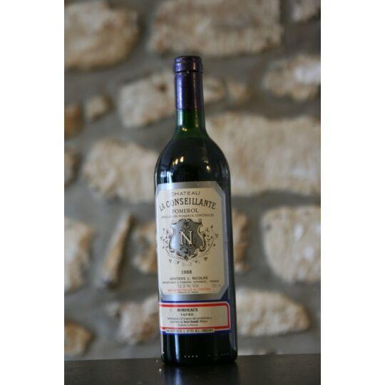 Vin Rouge, Château La Conseillante 1988
