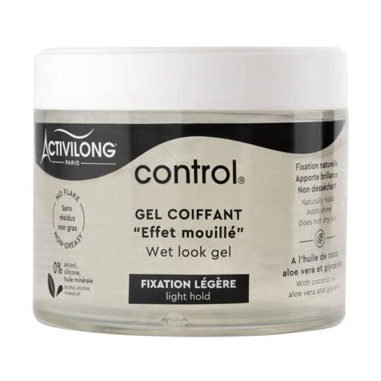 Gel Coiffant Fixation Légère Effet Mouillé Control Activilong ACTIVILONG