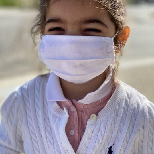 10 Masques enfant 5-15 ans Lavable - Made In France