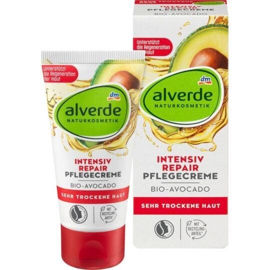 Alverde Intensiv Repair Day Cream - 50 Ml ALVERDE