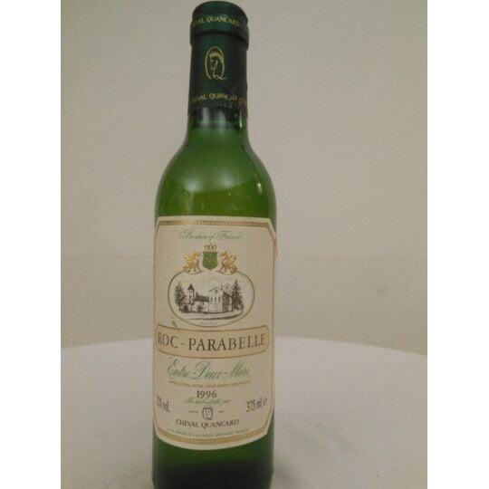 37,5 Cl Entre-deux-mers Roc Parabelle Blanc 1996 - Bordeaux.
