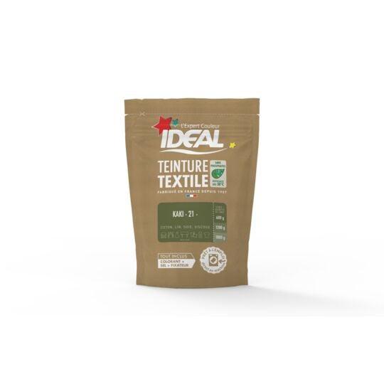 Teinture Textile Ideal Kaki 0.35 Kilogramme IDEAL
