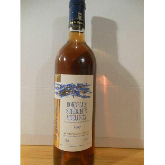 Bordeaux La Goulée D'or Moelleux 1993 - Bordeaux.
