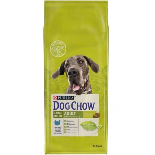 Croquettes Purina Dog Chow Chien Adult Large Breed Dinde 14 Kg DOG CHOW