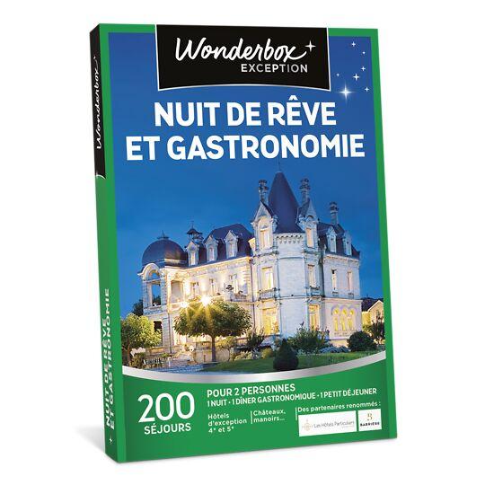 Nuit De Rêve Et Gastronomie WONDERBOX