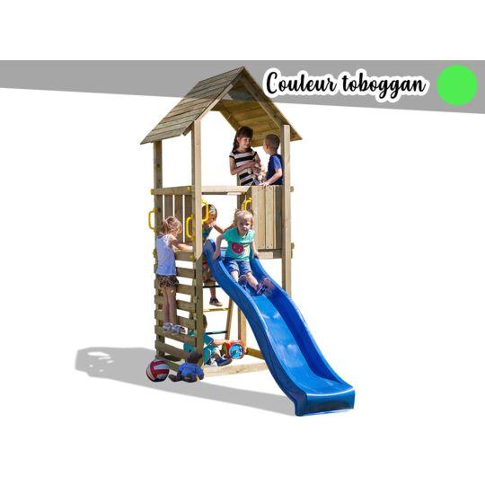 Aire De Jeux Carol 1 - Toboggan Vert FUNGOO