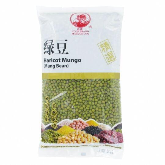 Haricot Mungo  500g - Graines De Soja Vert - Marque Coq - 8 Sachets