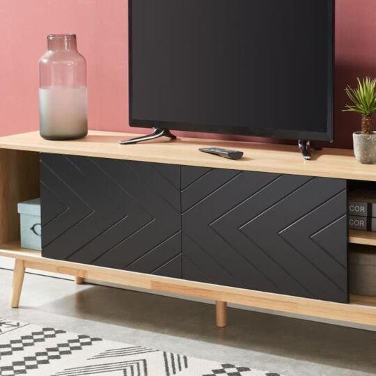 galia meuble tv 160 cm avec 2 portes