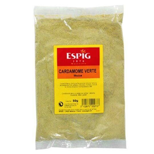 Cardamome verte en poudre Epice indienne 50g ESPIG