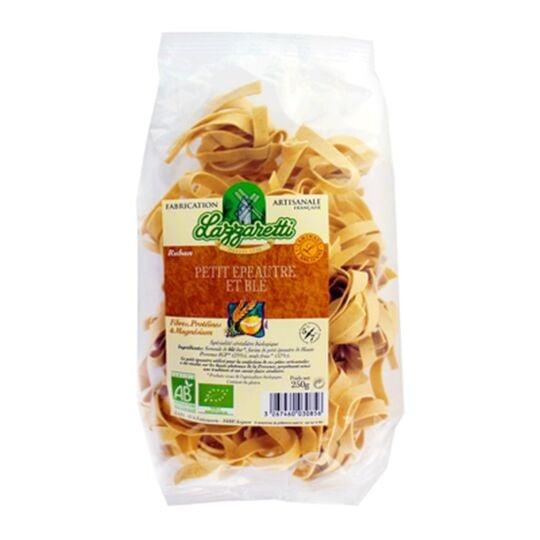 Pâtes Ruban Petit Épeautre Et Blé Bio - Lazzaretti - Paquet 250g LAZZARETTI